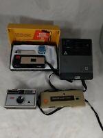 Vintage Kodak Camera Lot Instamatic Kodamatic Stylelite Untested As Is