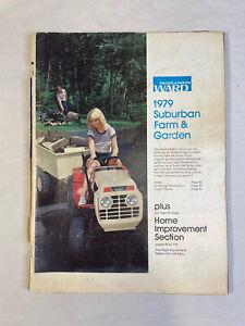 Montgomery Ward 1979 Suburban Lawn Farm Mini-Catalog Color Garden Tractor Gilson