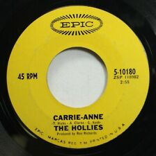 Rock 45 The Hollies - Carrie Anne / Signs That Will Never Change On Epic