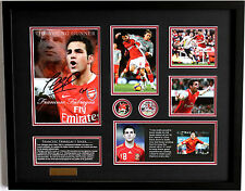 New Fabregas Signed Arsenal Limited Edition Memorabilia