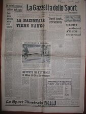 LA GAZZETTA DELLO SPORT 28/10/1965  Racing 2 Milan 1  Coppa delle Fiere