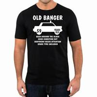 60th Birthday Gift Present Year 1959 Old Banger Funny Unisex T-Shirt Tee