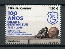 Spain 2019 MNH Federacion Guipuzcoana de Futbol 1v Set Football Soccer Stamps