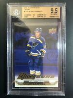 2015-16 Upper Deck Robby Fabbri Young Guns Canvas Rookie BGS 9.5