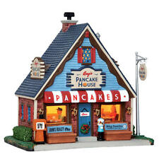 Coventry Cove Lemax Christmas Village Building Amy's Pancake House Restaurant