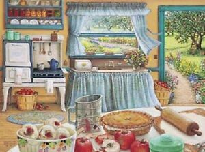 Apple Pie Harvest Print by Janet Kruskamp Country Kitchen Canning Print
