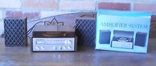 Vintage Radio miniature Similary  Record Player made in Hong Kong Amplifier Sy#6