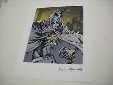 BATMAN STAMPA LITOGRAFIA POSTER MANIFESTO su cartoncino 29,5x42,30 bellissima!