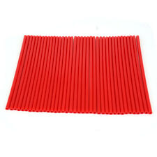 Motorbike New 72Pcs Spokes Guard Wraps Cover For 19 to 21 inch wheels Universal