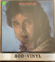 DAVID KNOPFLER - Behind The Lines - GATEFOLD VINYL LP EX CON