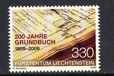 LIECHTENSTEIN MNH 2009 SG1507 BICENTENARY OF LAND REGISTER