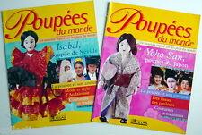 LOT DE 2 REVUES DE NOVEMBRE 1999, POUPÉES DU MONDE