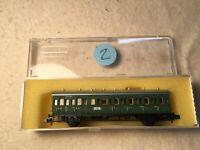 Minitrix Spur N 3058 Personenzugwagen 2./3. Klasse der DRG in OVP (#2/2)