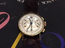 Rolex Antimatique Chronograph Ref 3484 from 1940's Yellow Gold-CLASSIC-RARE