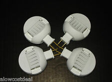 4x SCENTBALL ELECTRIC PLUG IN AROMATHERAPY ROOM DIFFUSER ESSENTIAL OIL W/OUT PAD