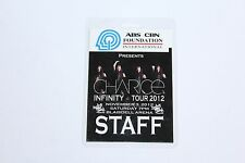 Charice - Backstage Pass / Laminated Staff  -  FREE SHIPPING -