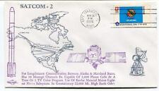 1976 Satcom-2 Longdistance Communication Alaska Mainland States Cape Canaveral