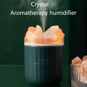 Crystal Salt Stone Aromatherapy Humidifier USB Household Large Fog Volume Mute