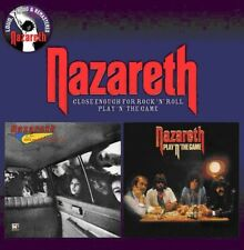 Nazareth - Close Enough for Rock N Roll / Play N the Game [New CD] UK - Import