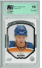 Connor McDavid 2015 Upper Deck Portraits #P-100 Rookie Card PGI 10