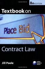 Textbook on Contract Law,Jill Poole- 9780199282487