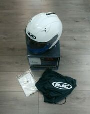 HJC IS-33 MOTORCYCLE HELMET WHITE LARGE