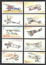 CIGARETTE/TRADE/CARDS. Golden Era. AIRCRAFT OF WWI. (1995). (Complete Set of 24)