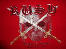 Red RUSH 2007 Snakes and Arrows World Tour  t shirt Adult M 2 Sided Free US SHP