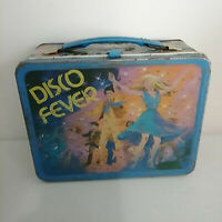 Disco Fever Dancing 1980 King Seeley Retro Metal Lunch Box