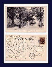 NEW JERSEY BURLINGTON, WEST UNION ST EAST 1922 LACHINE TO MRS. MORLING,  AYLMER