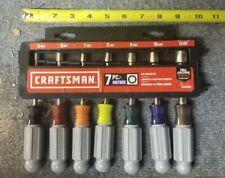Craftsman 7 Piece Metric Nut Driver Set