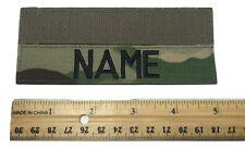 "MULTICAM OCP Custom Name Tape 5"" Length - US Army Military"