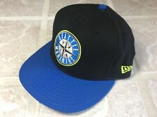 New Era 59Fifty Seattle Mariners Black Blue Volt Primary Logo AIR GRIFFEY MAX 1