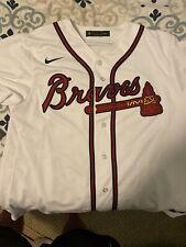 Brand New 2020 Atlanta Braves Ronald Acuna Jr. #13 Nike Home Replica Team Jersey