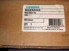 Siemens S02MN6 Shunt Trip 208V use for MD SMD ND SND PD SPD RD frame breaker