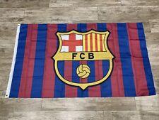 Barcelona FC Flag Banner 3x5 ft Spain Soccer Bicolor New Futbol Club 2020