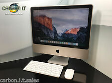 "Barato Apple Imac 20"" 8.1 Intel Core 2 Duo 4.00GHz 2 GB RAM 250 GB HDD OS X 10.11"