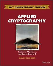 Applied Cryptography: Protocols, Algorithms and Source Code in C. Bruce Scheiner