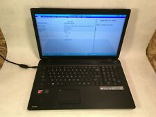 "Toshiba Satellite C75D-A7102 17.3"" Laptop Amd A6-5200 2.0Ghz 2Gb Ram Boots -Rr"