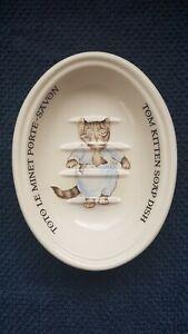 Masons Crabtree Evelyn Beatrix Potter Tom Kitten Soap Dish