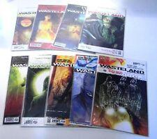 DC Vertigo Comics WASTELAND #1-4 6-10 Bagged and Boarded (9 Issues)