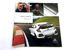 2017 2018 Honda Civic Type R Original Factory Car Accessories Brochure