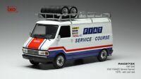 IXO IXORAC273  - Fiat 242 Fiat France Service Course - 1979 1/43