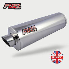 KTM 125 Duke 2017+ Slash Polished S/S Round MicroMini UK Road Legal Fuel Exhaust