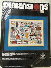 """Dimensions Alphabet Learner Counted Cross Stitch Sealed Kit 3567-16"""" x 12"""""""
