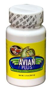Zoo Med's Avian Plus Vitamin & Mineral Supplement for Birds  1oz size
