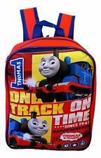 """Thomas the Train and Friends Boys School Backpack Bookbag Kids 15"""" Bag Gift Toy"""