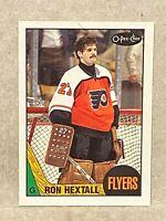 1987-88 O-Pee-Chee OPC Ron Hextall Rookie Card RC Philadelphia Flyers #169