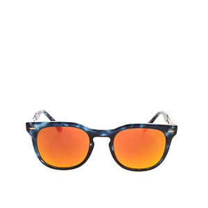 RRP€115 SPEKTRE Butterfly Sunglasses Tortoiseshell Mirrored Lenses Made in Italy