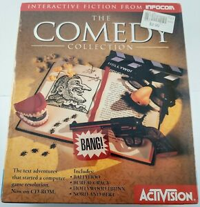 New! The Comedy Collection by Infocom / Activision - IBM/Mac CDROM  #AC